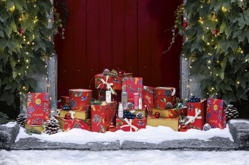 Ο Χριστουγεννιάτικος κόσμος του Les Sources de Caudalie