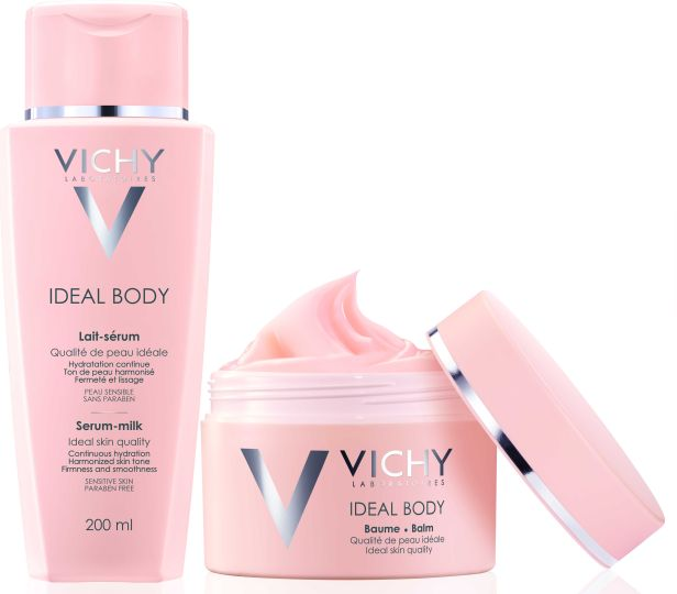 VICHY-IDEAL BODY-BALM + LAIT TOGETHER