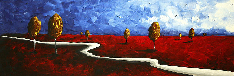 abstract-art-original-landscape-painting-winding-road-by-madart-megan-duncanson