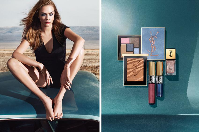 YSL-Savage-Escape-Makeup-Collection-for-Summer-2016-Cara-Delevigne-promo